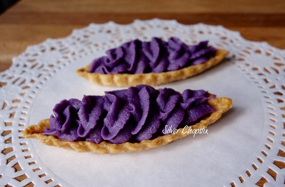 Okinawan Purple Sweet Potato Tart