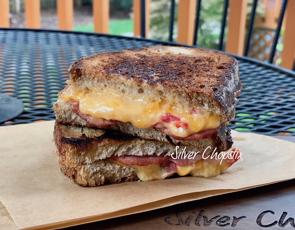Grilled Cheese Pimiento Sandwich