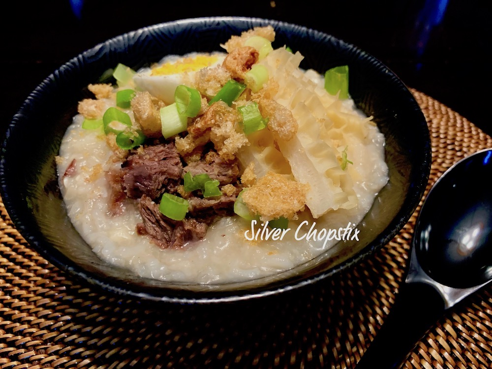 Goto (Congee with Beef Tripe)