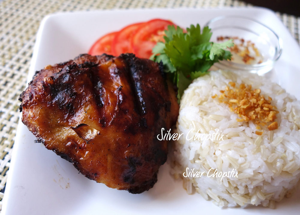 Chicken Inasal (Bacolod style grilled chicken)