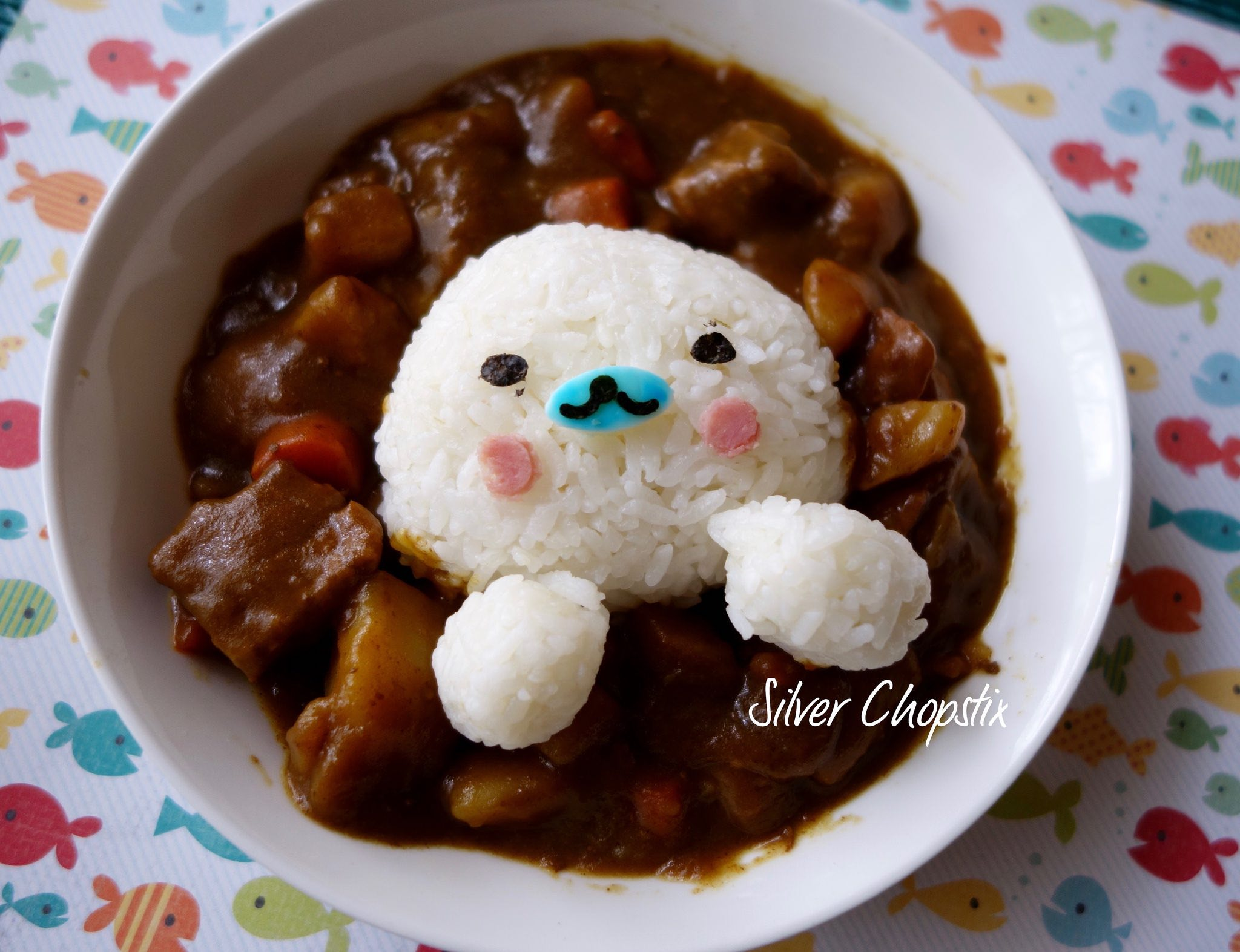 Seal Curry Rice