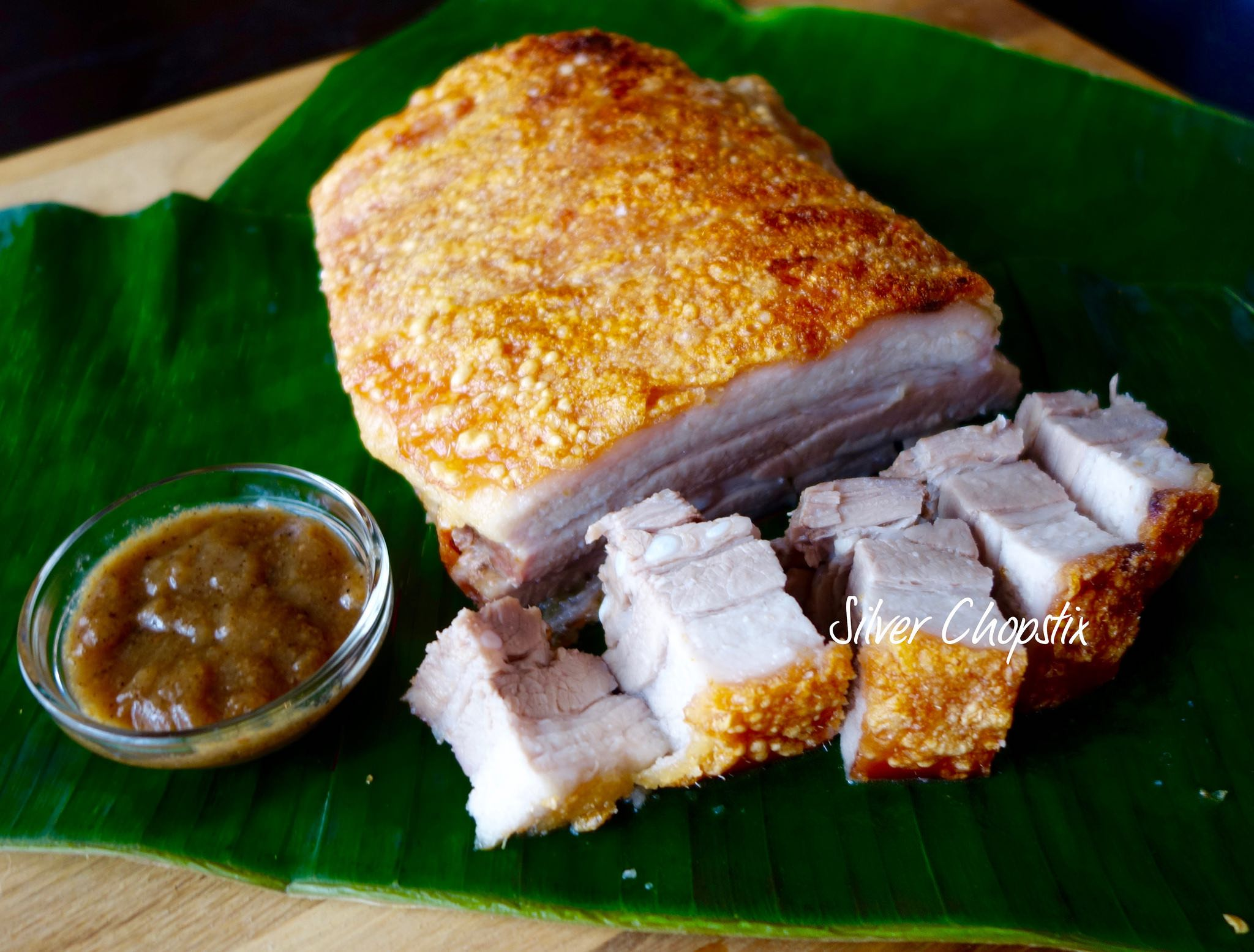 Oven Roasted Pork Belly (Lechon Kawali)