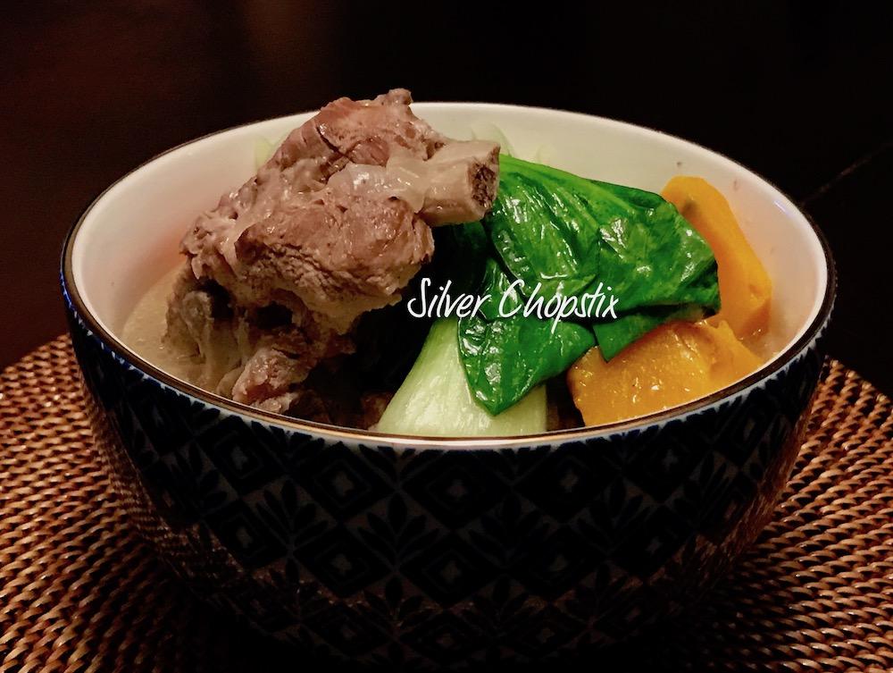 Pork Bone Soup (Nilagang Buto ng Baboy)