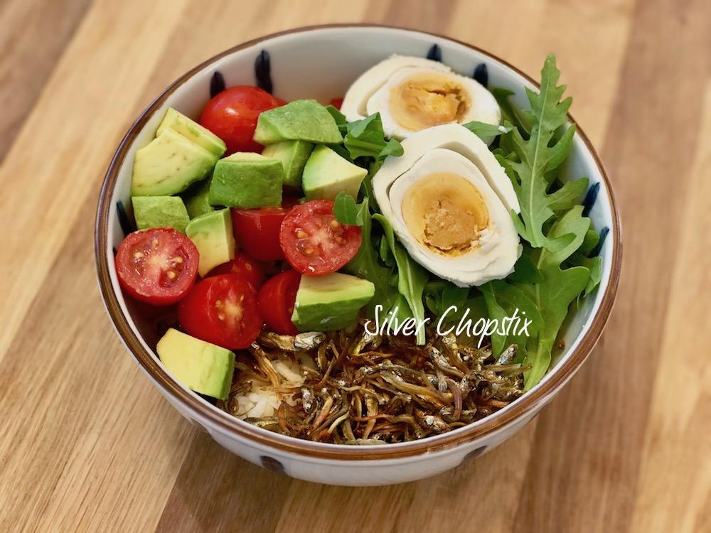 Dilis (Crispy Anchovies) Rice Bowl