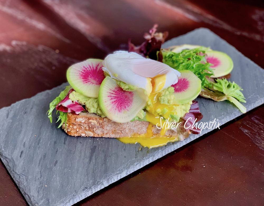 Avocado Toast with Watermelon Radish