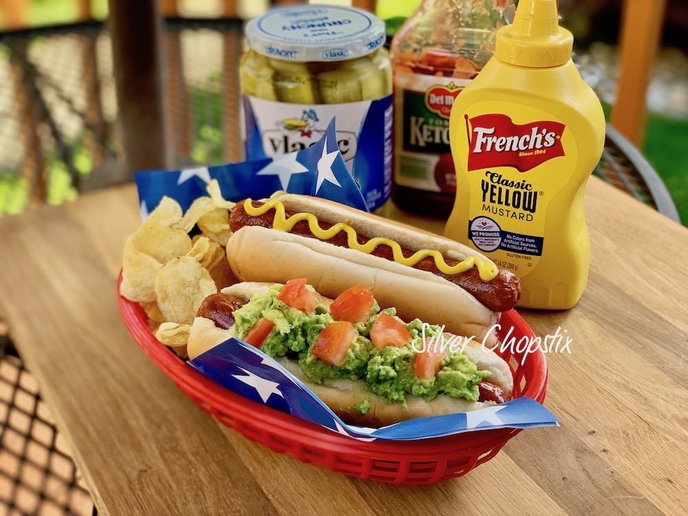 Avodogs (Hot Dogs with Avocado)