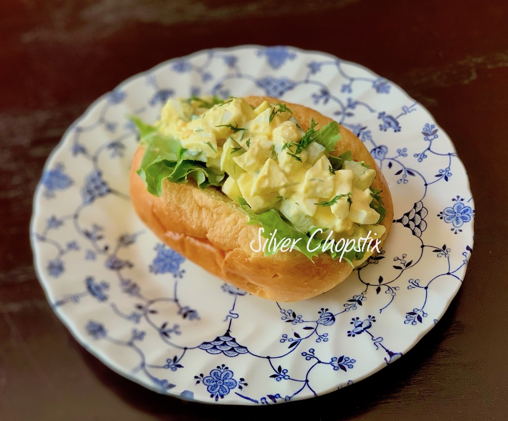 Egg Salad with Cucumber and Dill
