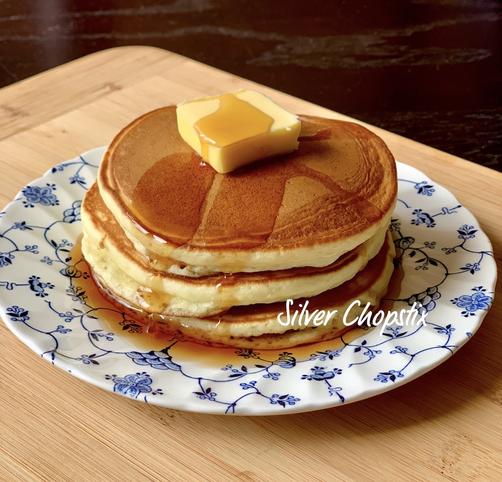 Japanese (Morinaga) Hotcakes from a Mix